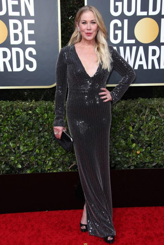 CHRISTINA APPLEGATE at 77th Annual Golden Globe Awards in Beverly Hills 01/05/2020