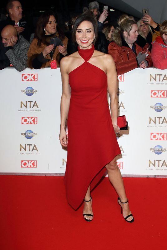 CHRISTINE LAMPARD at National Television Awards 2020 in London 01/28/2020