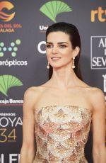 CLARA LAGO at 34th Goya Cinema Awards 2020 in Madrid 01/25/2020