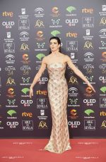 CLARA LAGO at 34th Goya Cinema Awards 2020 in Madrid 01/25/2020