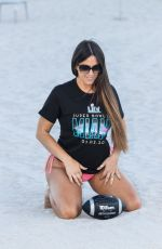 CLAUDIA ROMANI Getting Ready for Superbowl Weekend in Miami 01/29/2020