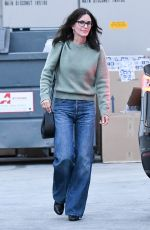 COURTENEY COX at Celine Store in Los Angeles01/16/2020