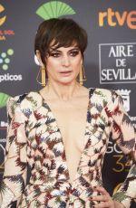 CUCA ESCRIBANO at 34th Goya Cinema Awards 2020 in Madrid 01/25/2020
