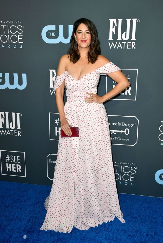 D'ARCY CARDEN at 25th Annual Critics Choice Awards in Santa Monica 01/12/2020