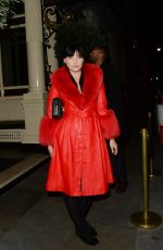 DAISY LOWE Night Out in London 01/22/2020