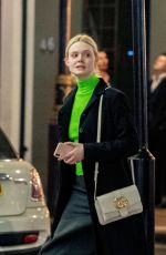 DAKOTA and ELLE FANNING Out in London 01/24/2020