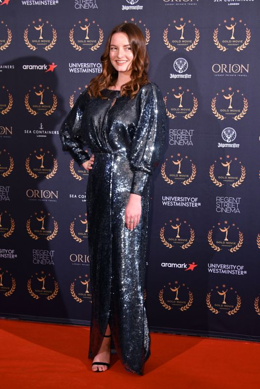 DAKOTA BLUE RICHARDS at Gold Movie Awards 2020 in London 01/09/2020