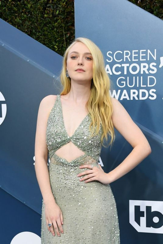 DAKOTA FANNING at 26th Annual Screen Actors Guild Awards in Los Angeles 01/19/2020