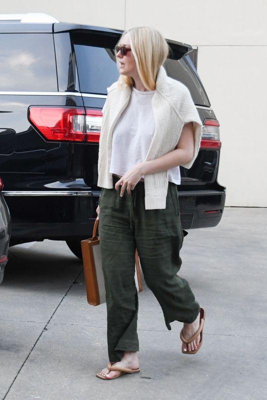 DAKOTA FANNING Out Shopping in Beverly Hills 01/04/2020