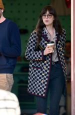DAKOTA JOHNSON and Blake Lee Out for Coffee in Los Angeles 01/16/2020