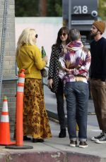 DAKOTA JOHNSON and BUSY PHILIPPS at Larchmont Village in Los Angeles 01/16/2020