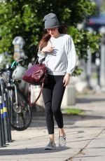 DAKOTA JOHNSON Leaves Yoga Class in Los Angeles 01/17/2020
