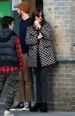 DAKOTA JOHNSON Out and About in Los Angeles 01/16/2020