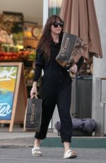 DAKOTA JOHNSON Shopping at Erewhon Market in Los Angeles 01/27/2020