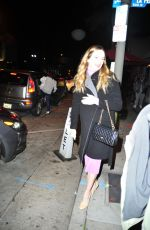 DANIELLE PANABAKER Out for Dinner in West Hollywood 01/17/2020