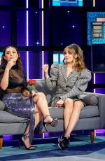 DEBBY RYAN and FRANCIA RAISA at A Little Late with Lilly Singh in Hollywood 01/14/2020