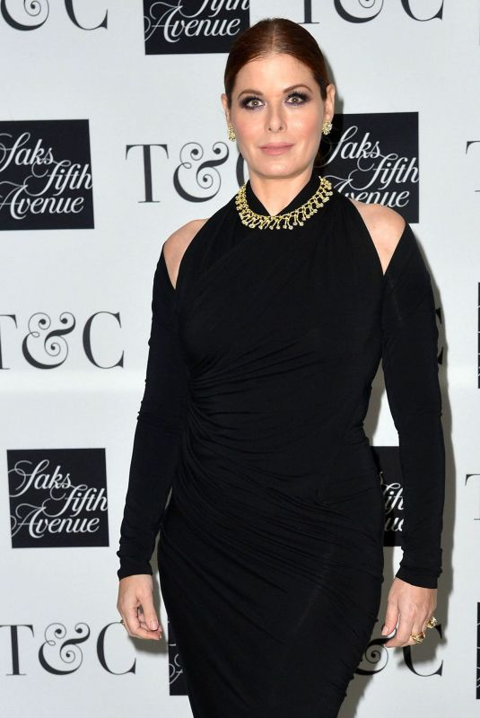 DEBRA MESSING at Town & Country Jewelry Awards in New York 01/27/2020