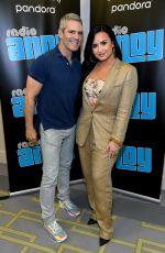 DEMI LOVATO and Andy Cohen at SiriusXM Radio in Miami 01/30/2020