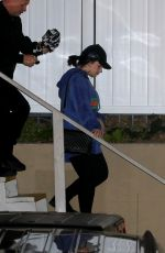 DEMI LOVATO at Wednesday Night Church Service in Beverly Hills 01/08/2020