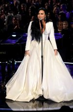DEMI LOVATO Performs Anyone at 2020 Grammy Awards in Los Angeles 01/26/2020