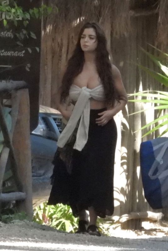 DEMI ROSE MAWBY Out in Tulum 01/06/2020
