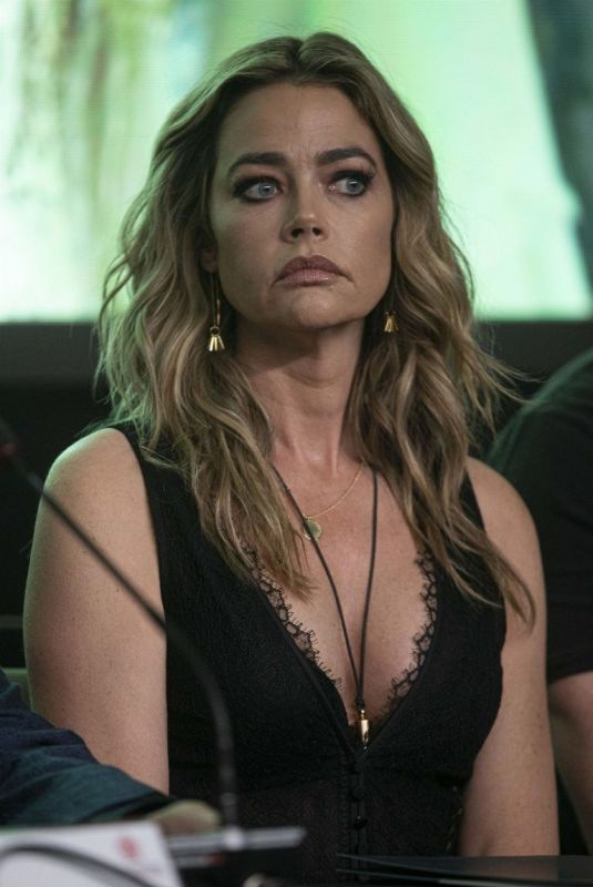 DENISE RICHARDS at Glow and Darkness Photocall in Madrid 01/09/2020
