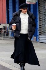 DIANE KRUGER Out and About in New York 01/28/2020