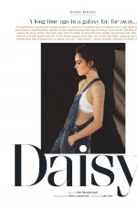 DIASY RIDLEY in GQ Magazine, UK January/February 2020