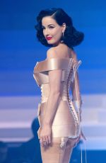 DITA VON TEESE at Jean-Paul Gualtier Haute Couture Show in Paris 01/22/2020