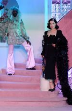 DITA VON TEESE at Ulyana Sergeenko Runway Show at Paris Fashion Week 01/20/2020