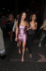 DRAYA MICHELE Leaves Ballet Nightclub in Hollywood 01/22/2020