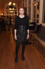 ELEANOR TOMLINSON at La Boheme Press Night Preshow in London 01/10/2020