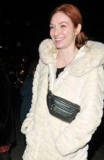 ELEANOR TOMLINSON Leave Royal Opera House in London 01/10/2020