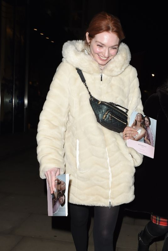 ELEANOR TOMLINSON Leave Royal Opera House in London 01/10/2020