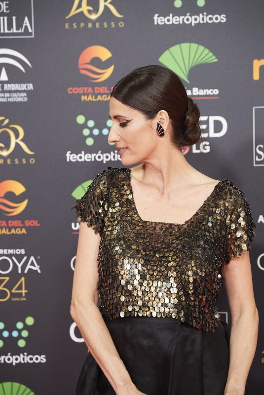 ELIA GALER at 34th Goya Cinema Awards 2020 in Madrid 01/25/2020