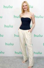 ELLE FANNING at Hulu Panel at 2020 Winter TCA Tour in Pasadena 01/17/2020