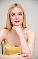 ELLE FANNING at The Great Press Conference in Beverly Hills 01/17/2020