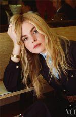 ELLE FANNING for Vogue Magazine, February 2020