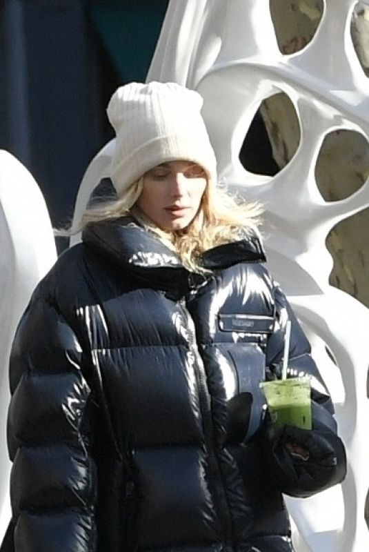 ELSA HOSK Out for Juice in New York 01/29/2020