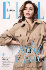 EMILIA CLARKE for Elle Magazine, Arabia February 2020