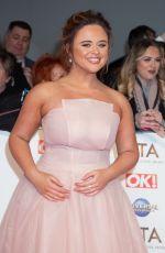 EMILY ATACK at National Television Awards 2020 in London 01/28/2020