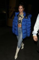 EMILY RATAJKOWSKI Leaves Staples Center in Los Angeles 01/13/2020