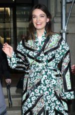 EMMA MACKEY Leaves BuzzFeed Studios in New York 01/21/2020