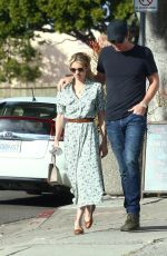 EMMA ROBERTS and Garrett Hedlund Out and About in Los Angeles 01/07/2020