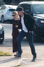 EMMA ROBERTS and Garrett Hedlund Out for Breakfast in Los Feliz 01/11/2020