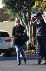EMMA ROBERTS and Garrett Hedlund Out in Studio City 01/12/2020