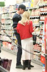 EMMA ROBERTS and Garrett Hedlund Out Shopping in Santa Monica 01/11/2020