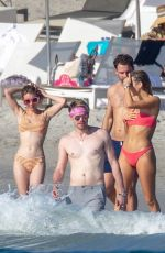 EMMA ROBERTS in Bikini at a Beach in Punta Mita 01/18/2020