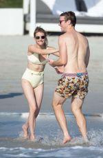 EMMA ROBERTS in Bikini at a Beach in Punta Mita 01/19/2020