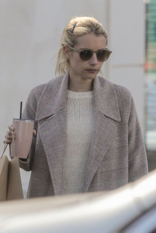 EMMA ROBERTS Out and About in Los Feliz 01/05/2020